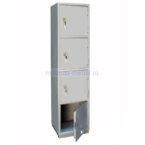 Металлический бухгалтерский шкаф КБ - 06 / КБС - 06