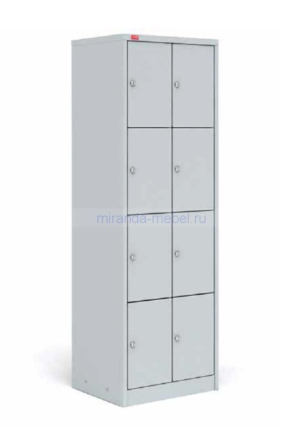 Шкаф металлический для сумок ШРМ 28 сумочница