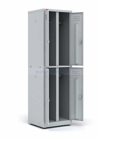 Шкаф металлический для одежды ШРМ 24